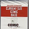 Comic Bags Current Size (100 Stück)